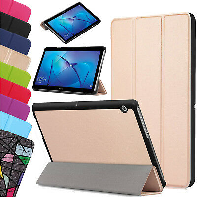 "For Huawei MediaPad T3 7.0"" 8"" 10"" Leather Thin Smart Stand Case Cover Tablet UK"