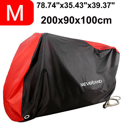 M Motorcycle Motorbike Bike Cover Waterproof Outdoor Rain Dust Scooter Protector