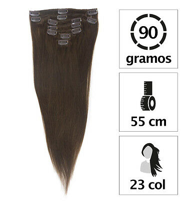 Clip Extension  90Gr. Capelli Veri Naturali 55Cm.