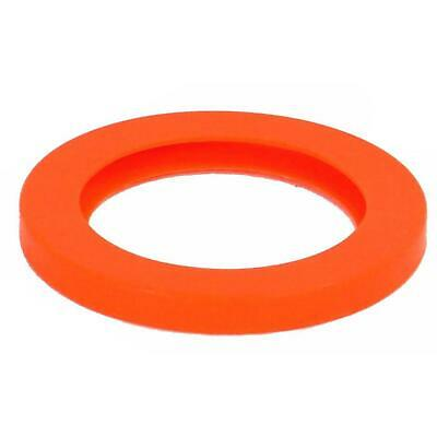"Best Value Vacs- 5.75"" Orange Silicone Replacement Vacuum Chamber Gasket"