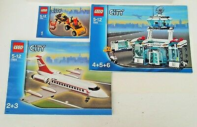 Lego 7894 City Airport - INSTRUCTION BOOKS ONLY - No Lego