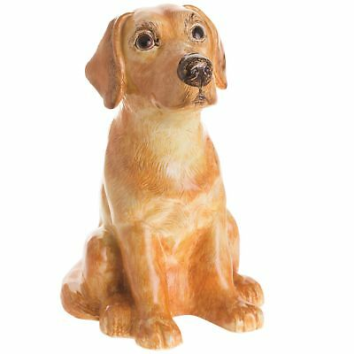 John Beswick JBMBA7 Labrador Yellow Dog Money Bank
