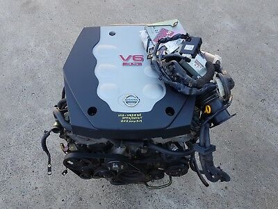 Nissan 350Z Skyline V35 350Gt Vq35De Complete Engine Package Low Km Vq35