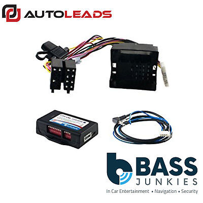 Autoleads CP2-VX52 Vauxhall Steering Wheel Stalk Control Interface Lead