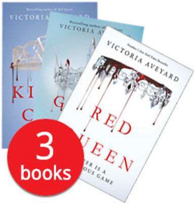 Red Queen Collection - 3 Books