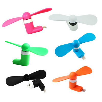 Mini Portable 8Pin Cooling Fan For iPhone USB Gadget Android Phone Accessories