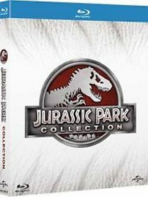 COFANETTO Blu Ray BRD JURASSIC PARK-Collection (4 Dischi) di Steven Spielberg