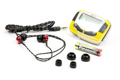 Raceceiver Fusion 1600+ with Rookie Ear Piece Earpiece IMCA Driver Dirt Track