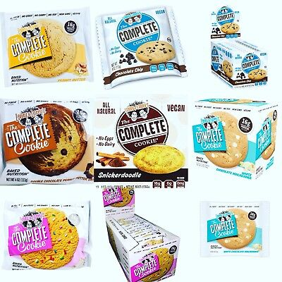 Lenny & Larrys Delicious Complete Protein Cookies 1 Box (12)