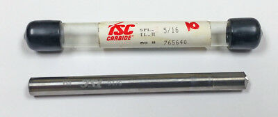 """5/16"""" Straight Flute Carbide Drill, 140 Degree Point, MF765640"""
