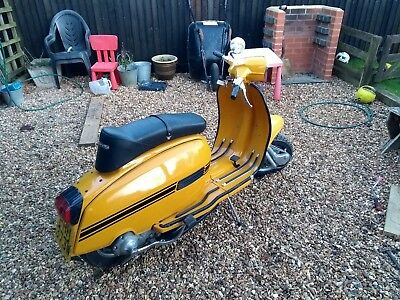 Lambretta GP 200 scooter