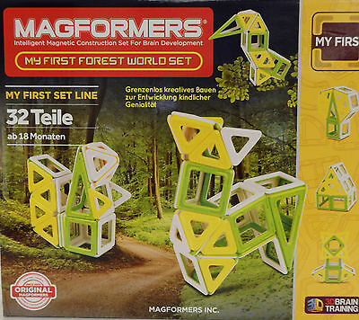 "Magformers 274-85 ""Forest World Set"""
