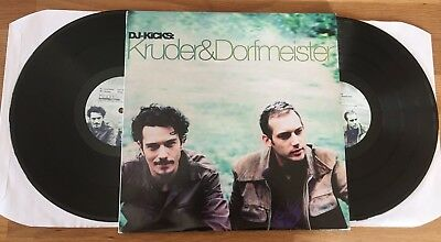 KRUDER DORFMEISTER - DJ-Kicks *2LP* LIMITED VINYL Original 1996 Press *RAR*