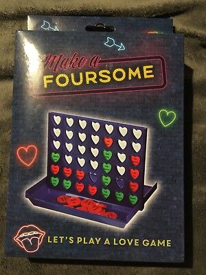 Make A Foursome Love Game Sex Connect 4 Game Adult Couples Naughty Fun Valentine