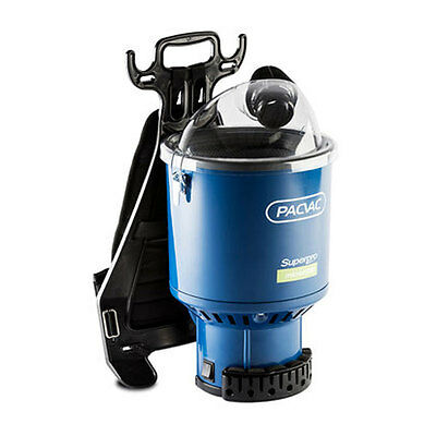 "Pacvac Superpro Micron 700 Backpack Vacuum Cleaner ""TRAPS 99.99% FINE PARTICLES"""