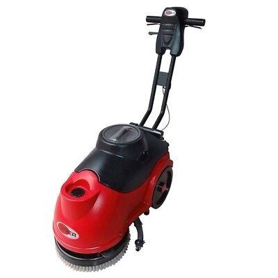 new VIPER AS380C Electric Compact Walk Behind Scrubber Dryer