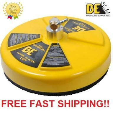 "New BE Pressure 14"" Whirl-A-Way Flat Surface Concrete Cleaner Part # 85.403.014"