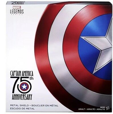 Marvel Legends Captain America 75th Anniversary Shield Licensed Replica Prop