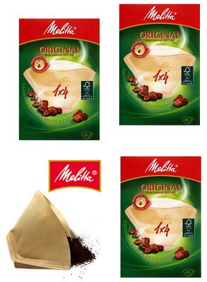 Melitta Original Coffee Filter Papers {size 1x4} from just £1.11 per 40 ex VAT !