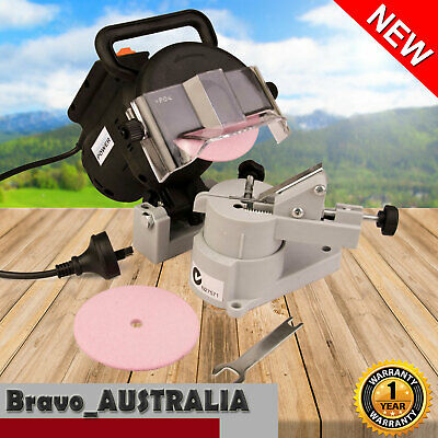 Chainsaw Sharpener 320W Bench Mount Chain Saw Electric Grinder Tool
