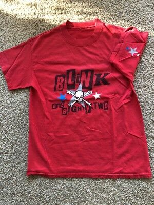 Vintage Blink 182 2001 Take Off Your Pants And Jacket Tour Shirt
