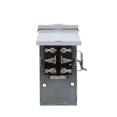 Manual Transfer Switch, 100-Amp 240V Non-Fused Emergency Power Transfer Switch