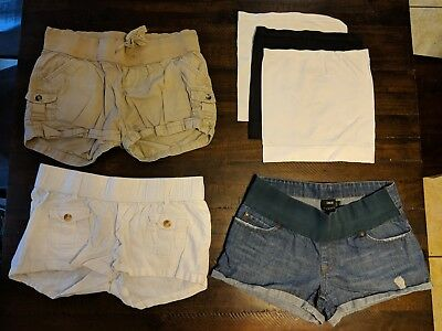 Maternity Clothes Clothing Lot summer dresses shorts jeans size XS S small 2 & 4