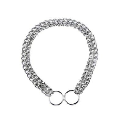 Dog Heavy Duty Choker Collar Chain Pet Stainless Steel Check Chains 40/50/65cm