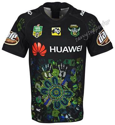 Canberra Raiders 2018 NRL Indigenous Jersey Sizes S-7XL BNWT