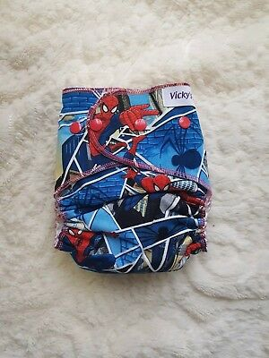 Cloth diaper AI2 Spiderman
