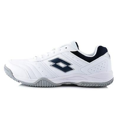 Lotto Mens Court Shoes Logo White Tennis S9447 Cheap Sneakers