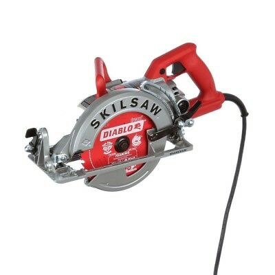New Magnesium Worm Drive Circular Saw 24 Tooth 15 Amp Corded Electric 7 1/4 in