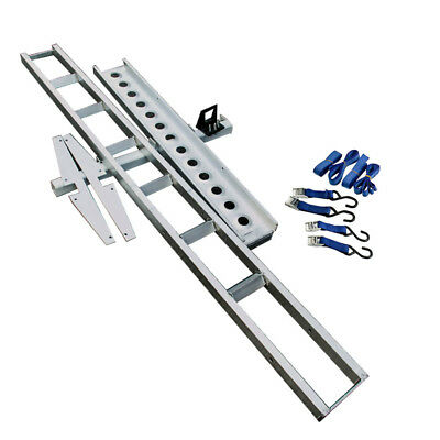Motorcycle Carrier Rack and Ramp Motorbike Dirt Bike Tow bar Free Freight 180KG