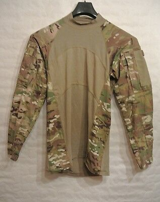 US Army OCP OEF ACU Multicam ACS Massif Combat Tactical shirt XS Militär -7248