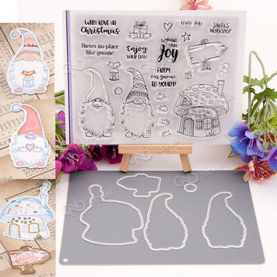 Clear Silicone Stamp Cutting dies For DIY Album Scrapbooking Photo Card Decor
