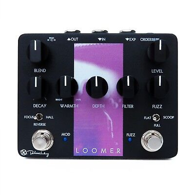 Keeley Loomer Fuzz Reverb Pedal insured & trackable shipping