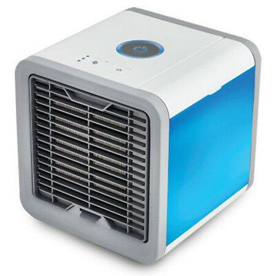 Air Cooler Electric Fan Mini Air Conditioner Humidifier Night Light Home Office