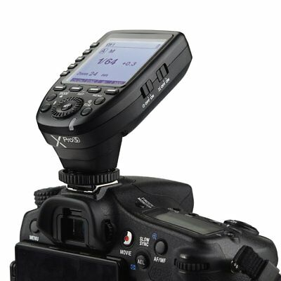 Godox XPro-S 2.4G TTL Transmitter Trigger For Sony A7RII A7RIII A7R A68 A99 A77