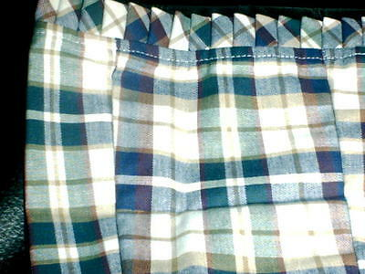 Longaberger  Small Garter - Woven Traditions Plaid