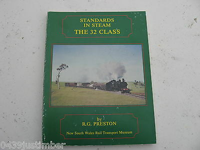 New South Wales Railways The 32 Class Engines..R G Preston Softcover Good Cond.