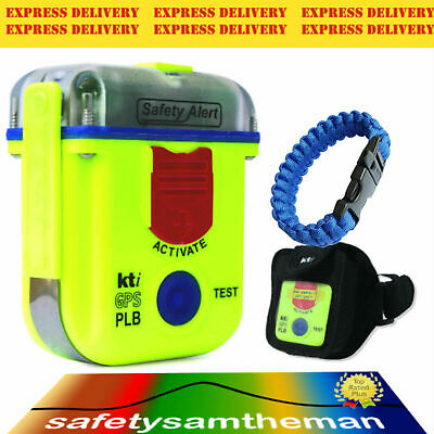 Kti Sa2G Epirb Plb Rescue Beacon With Armband Pouch And Blue 3M Paracord