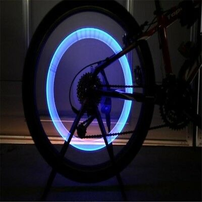 Valve Cap LED Bike Cycling -- Mount Bag kickstand lock handlebar grips chain rim