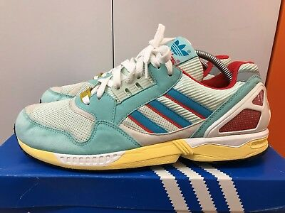 new styles 635cb 6c214 RARE ADIDAS TORSION ZX 9000 OG Designer TURQUOISE Sports Trainers UK 9 -  G97754