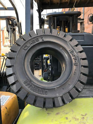18X7X8 Solid Forklift Tires New