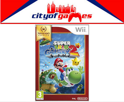 Super Mario Galaxy 2 Nintendo Selects Wii New & Sealed Free In Stock