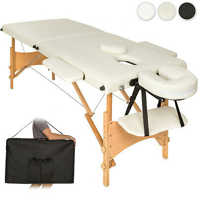 Lightweight portable massage table folding therapy beauty 2 zones + bag new