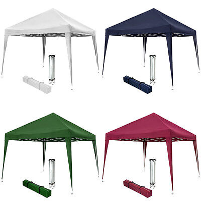 Pop up gazebo for garden party camping festivals beer tent 3x3m folding