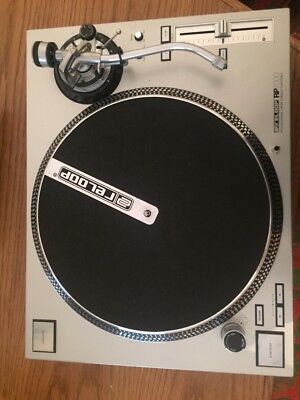 Reloop RP-7000 turntables in silver ( 2 pieces available 380 Euros )