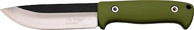 Elk Ridge ER-555GN Green Full Tang Survival Knife Kit & Sheath w/ Firestarter