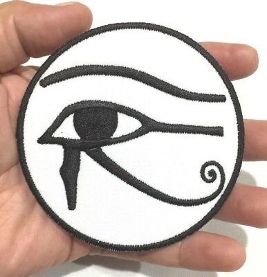Eye of Horus Ancient Egyptian Seeing morale Symbol Embroidered Iron On Sew Patch